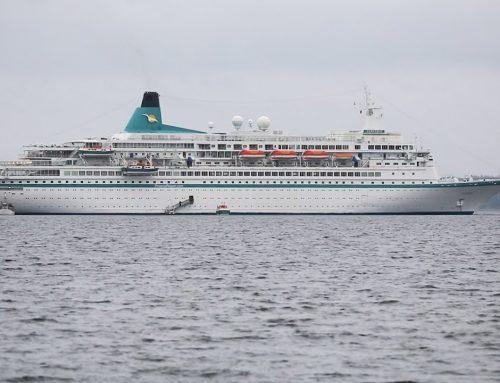 Sønderborg fik besøg af et krydstogtskib med 830 tyske passagerer ombord