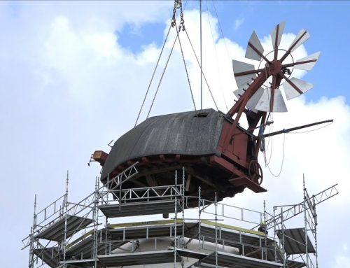 Renovering af nationalklenodiet Dybbøl Mølle