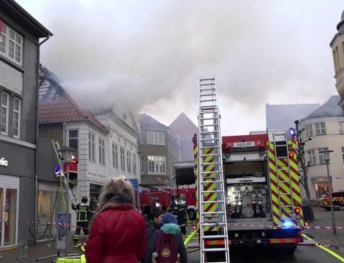 Historisk bygning raseret af brand
