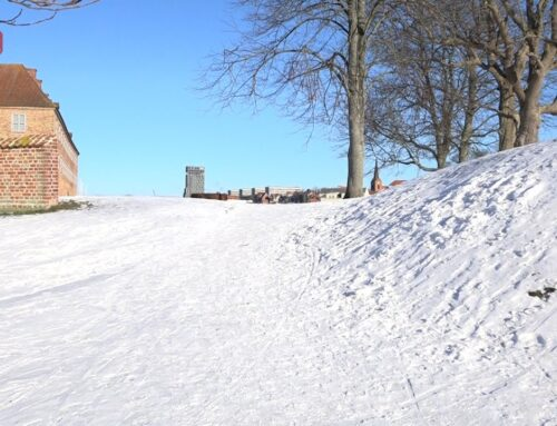 Sne over Sønderjylland