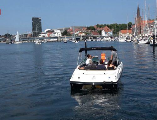 Sommerstemning ved Sønderborg Havn